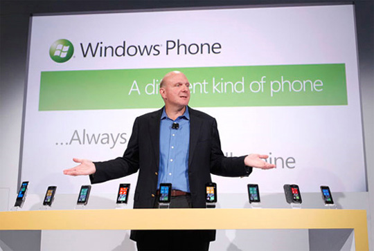 Windows Phone 7 - Steve Ballmer