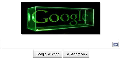 Gábor Dénes - Google logó
