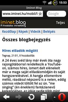 Iminet Blog Mobil